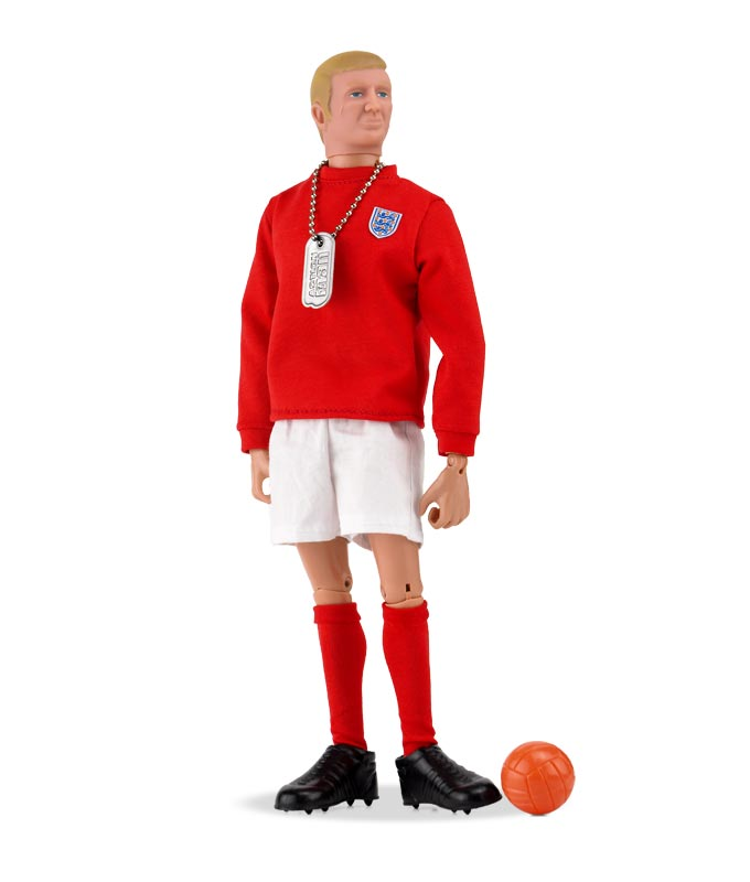 Bobby Moore 50th Anniversary Action Man