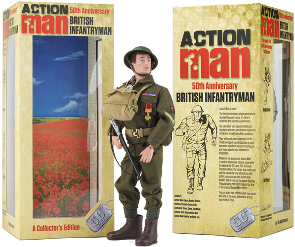 British Infantryman 50th Anniversary Box